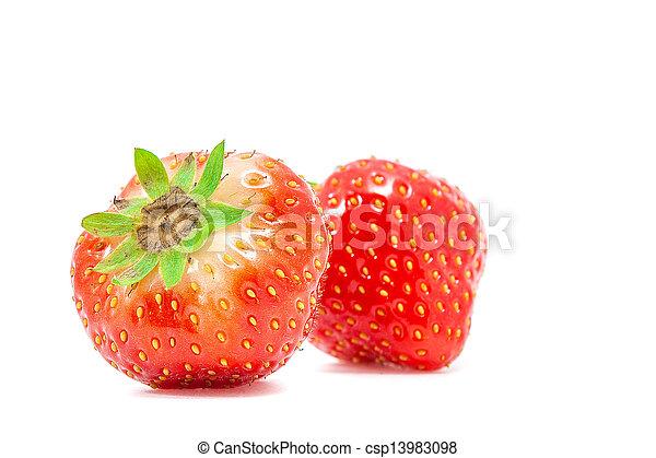 fresh strawberry - csp13983098
