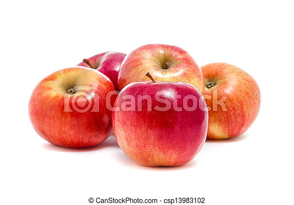 red apples - csp13983102