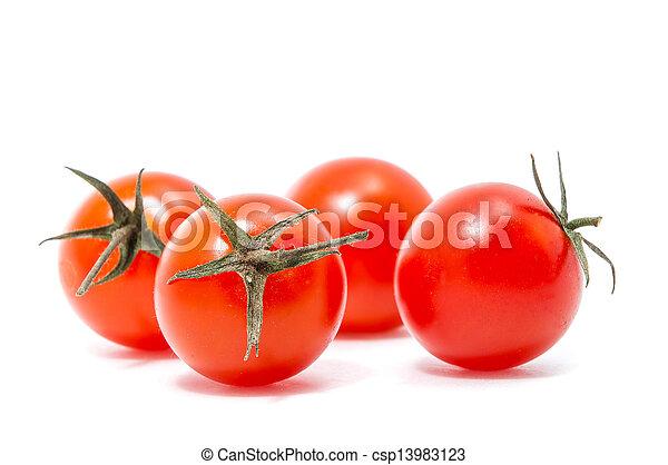 red cherry tomatoes - csp13983123