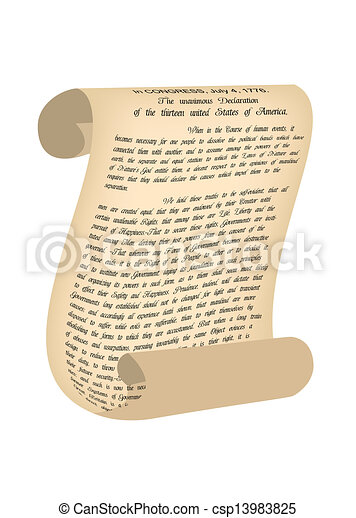 vector illustration of old paper vector illustration declaration of independence clipart free signing of the declaration of independence clipart