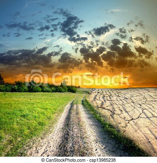 Global warming - csp13985238