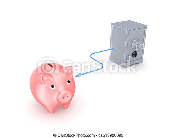Banking concept. - csp13986093