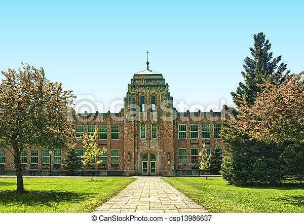 modern school - csp13986637