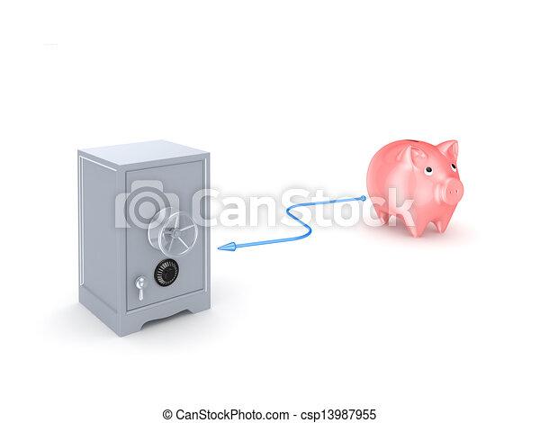 Banking concept. - csp13987955