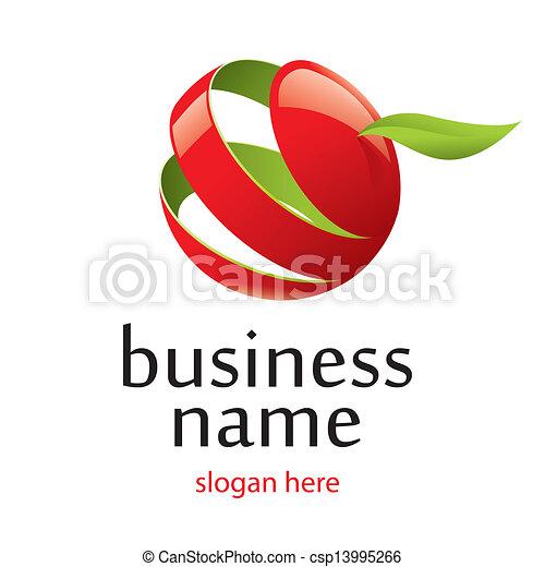vector logo and business environment - csp13995266