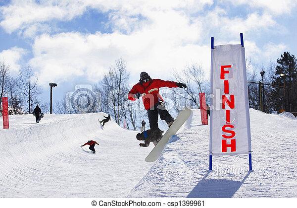 Halfpipe Competition