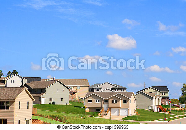 Residential Neighborhood - csp1399963