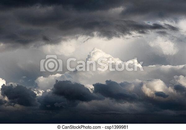 Storm Clouds - csp1399981