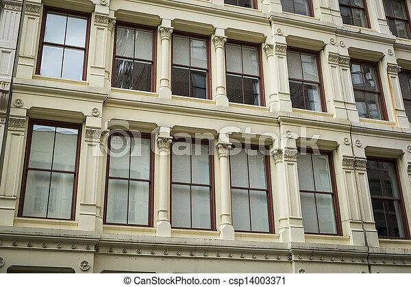Historic buildings in New York City's Soho District - csp14003371
