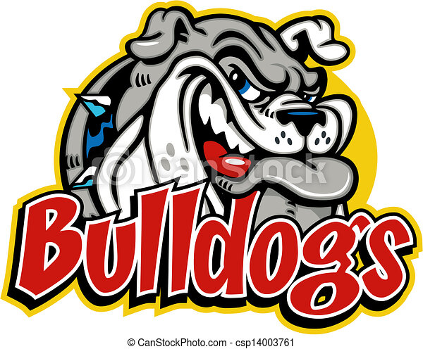 bulldog football clip art