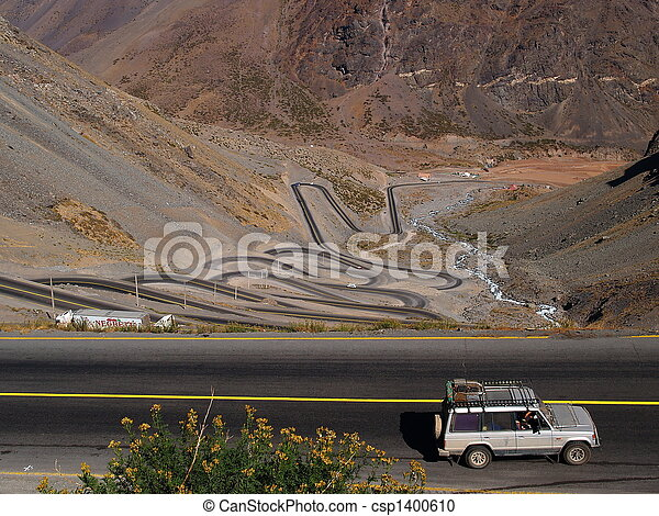 Passroad over the Andes - csp1400610