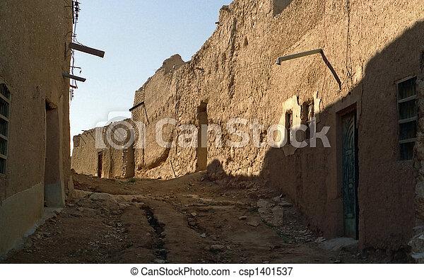 Saudi Arabia Old Village - csp1401537
