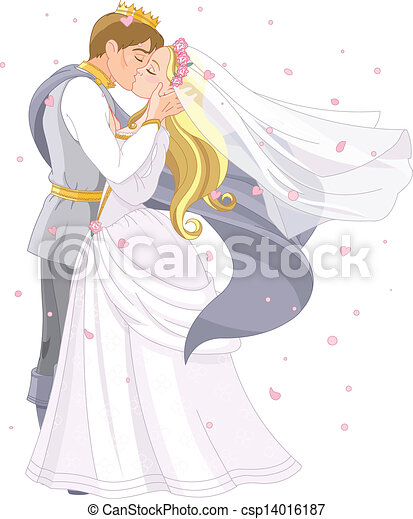 Wedding royal couple - csp14016187