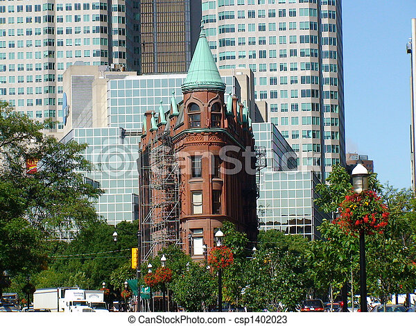 Toronto, punto di riferimento, storico - csp1402023