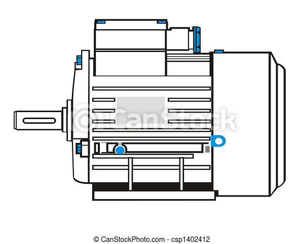 electric motor - csp1402412
