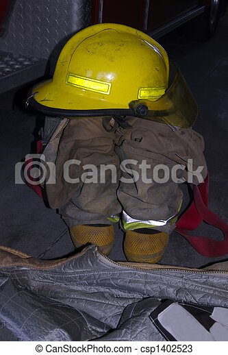 Structural Fire Fighter gear - csp1402523