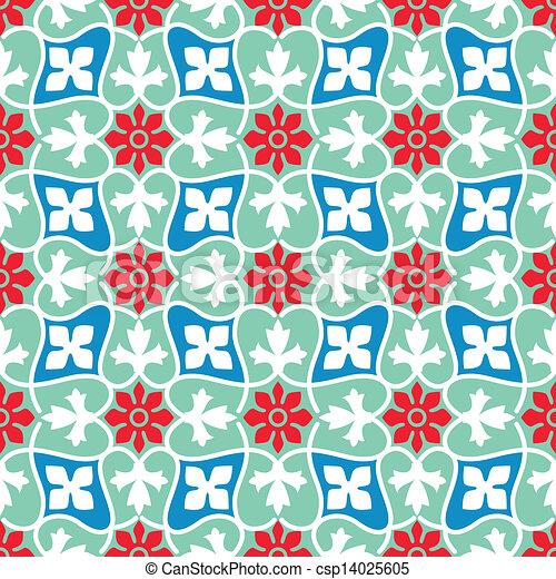 Islamic pattern - csp14025605
