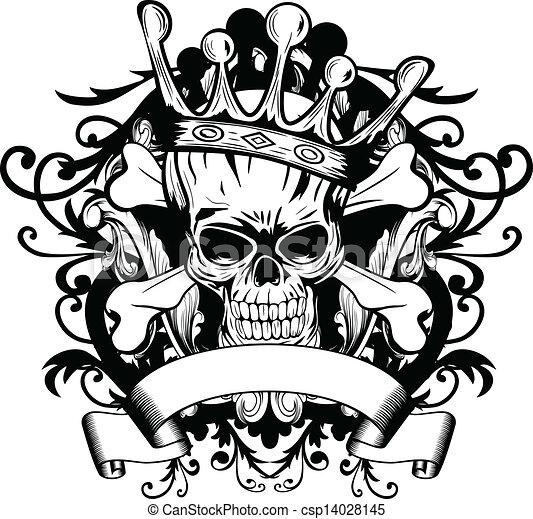 eps vector of skull with crown vector illustration skull harley davidson vector logo cdr vintage harley davidson logo vector