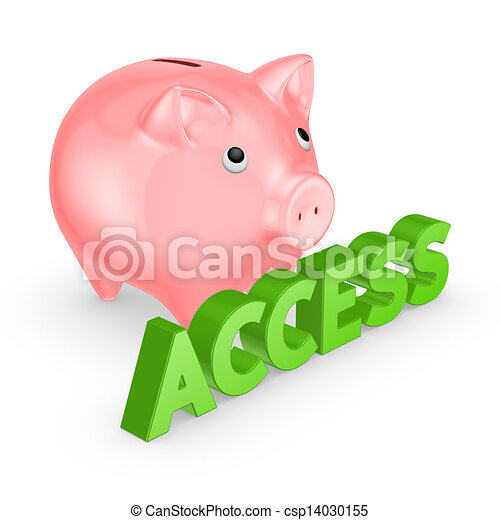 Online banking concept. - csp14030155