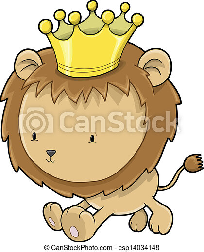 Cute lion drawing - photo#27