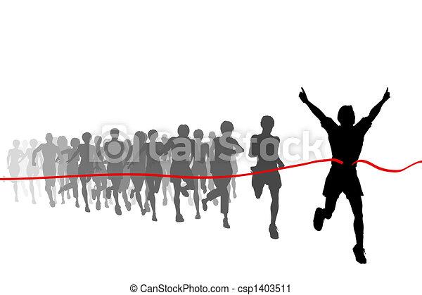 Race winner - csp1403511