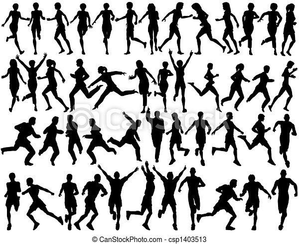 Runners - csp1403513