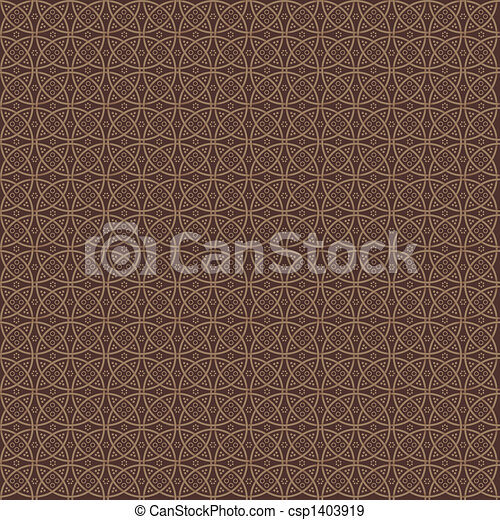 Elegance modern pattern in chocolate colours - csp1403919