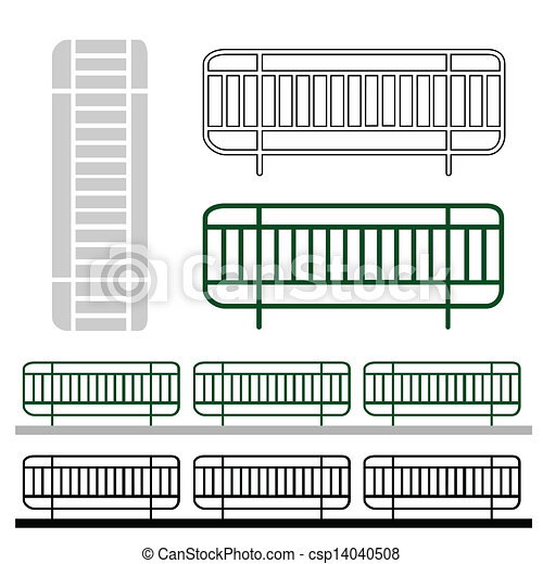 fence - stock illustration, royalty free illustrations, stock clip art ...