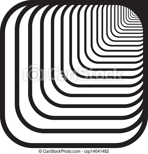 vektor von gerundet ecken tunnel recht hand front