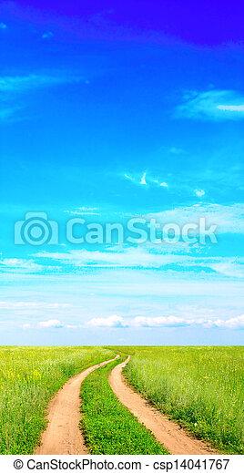 Rural landscape - csp14041767