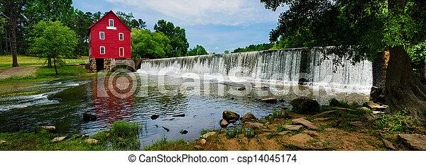 Starr's Mill, landmark near Atlanta - csp14045174