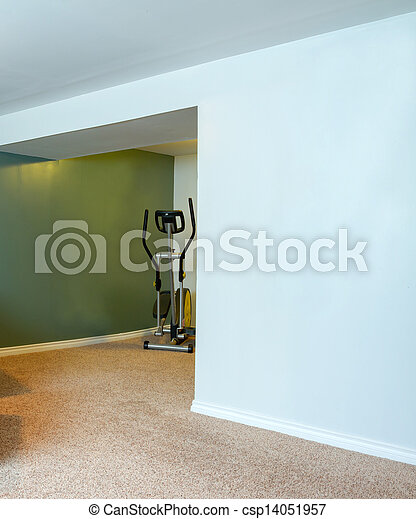 Stock images of basement interior design in a new house for Design my basement online free