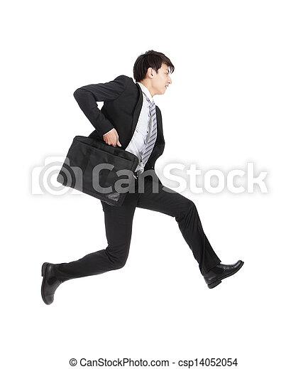 business man running  - csp14052054