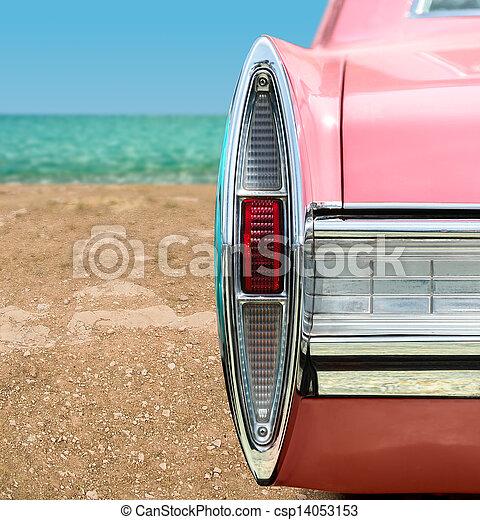 Pink Classic Car - csp14053153