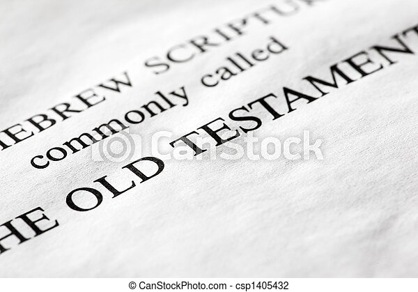 Old Testament - csp1405432