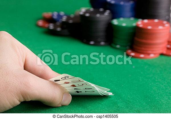 Poker Bluff - csp1405505