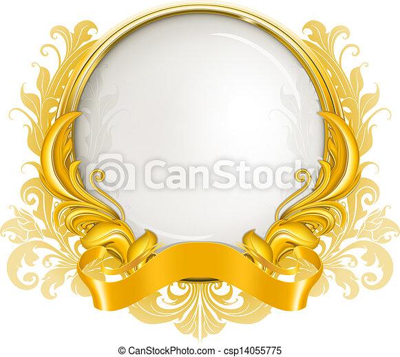 Luxury Frame, vector - csp14055775