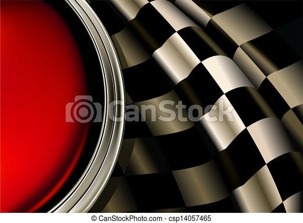 Racing Background, vector - csp14057465