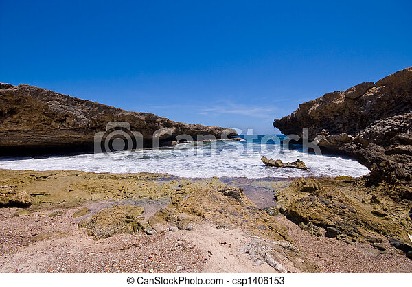 rocky shore inlet shete boca national park - csp1406153