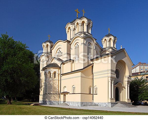 Orthodox Church in Ljubljana, Slovenia - csp14062440