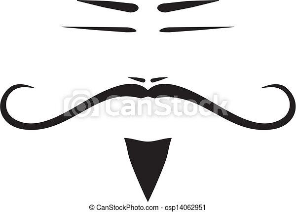 Faces Vector Art Vector Chinese Man Face