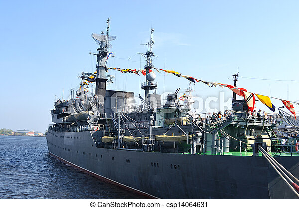 Russian military ship - csp14064631