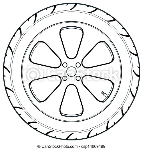 Image Result For Car Flat Tire