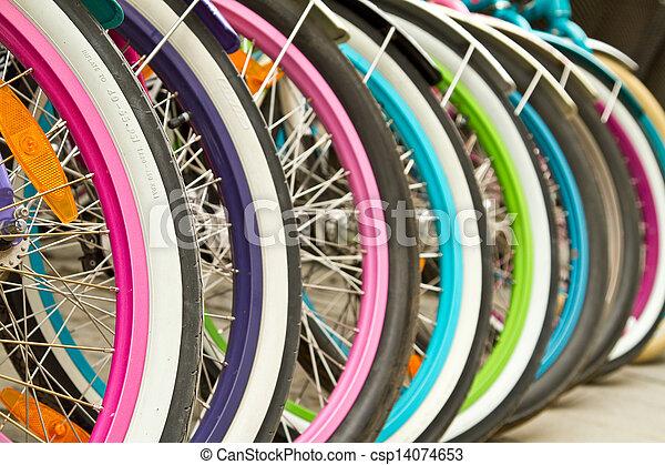 Colorfull wheels