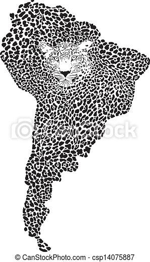 手绘线条虎
