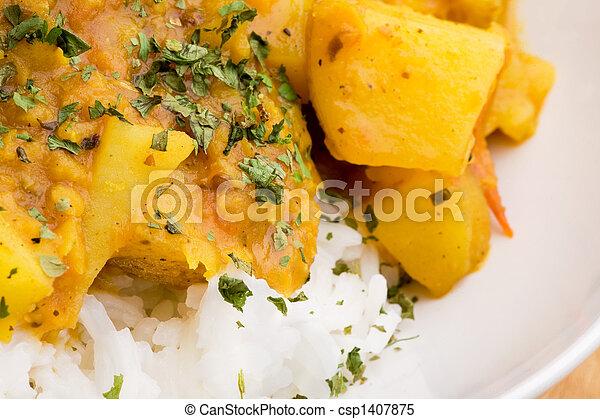 Indian Food Detail - csp1407875