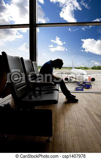 Airport Wait Transfer - csp1407978