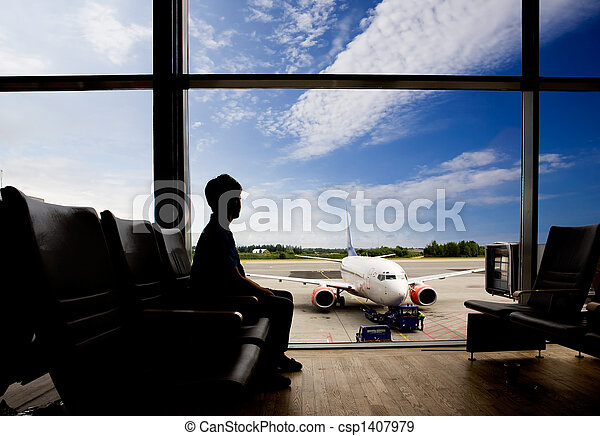 Airport Terminal - csp1407979