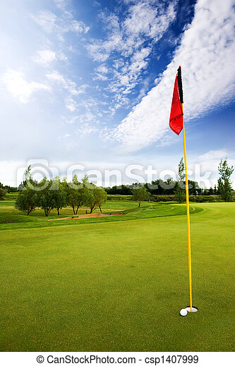 Golf Course - csp1407999
