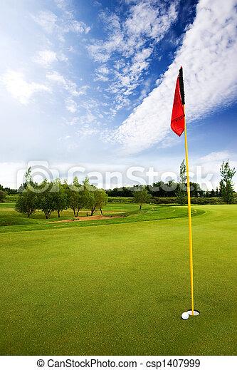 Golf Course - csp1407999